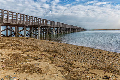 Photograph - Powder Point Bridge by Brian MacLean