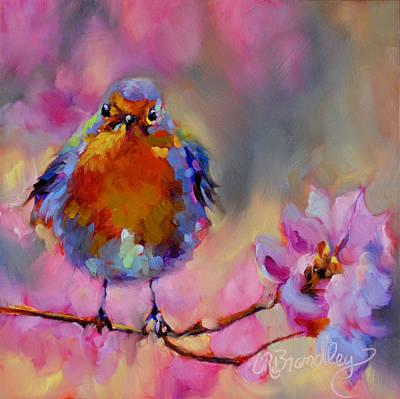 Painting - Powder Puff by Chris Brandley