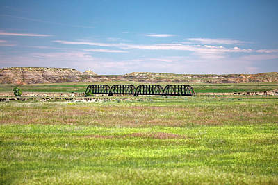 Calypso Photograph - Powder River Bridge by Todd Klassy