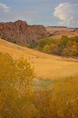 Photograph - Powder River Fence by Amanda Smith
