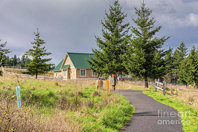 State Parks In Oregon Photograph - Powell Butte Park In Portland Oregon. by Gino Rigucci