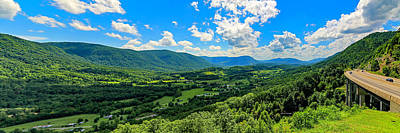 Photograph - Powell Valley Overlook by Dale R Carlson