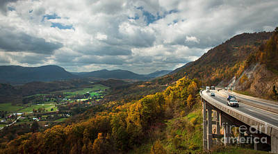 Photograph - Powell Valley Overlook by Lena Auxier