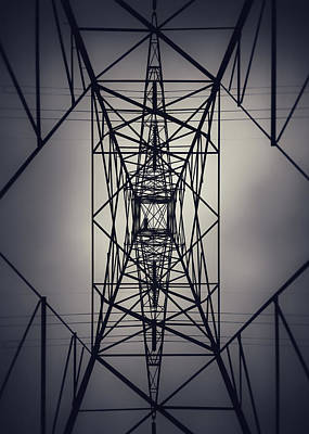 Power Above Art Print