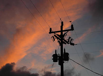 Photograph - Power And Sky - Key West by Frank Mari