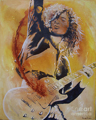 Painting - Power Chord by Stuart Engel