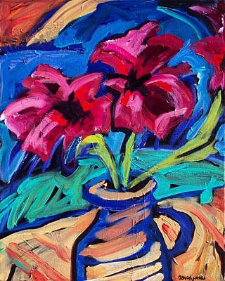 Painting - Power Flowers by Dave Jones