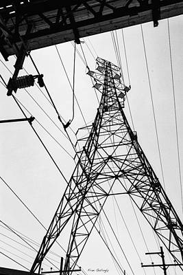 Photograph - Power Grid by Fran Gallogly
