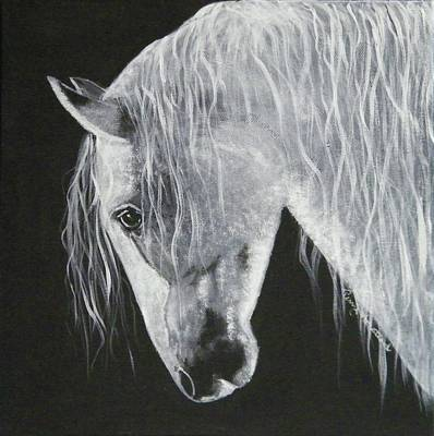 Painting - Power Horse by Terry Honstead