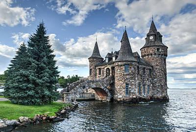 Power House Of Boldt Castle Thousand Islands New York Art Print