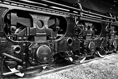 Power In The Age Of Steam 6 Art Print by Dan Dooley