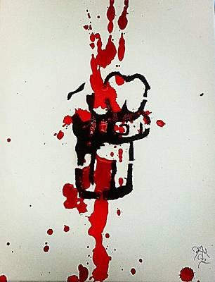 Power Painting - Power by Jeffery Miles