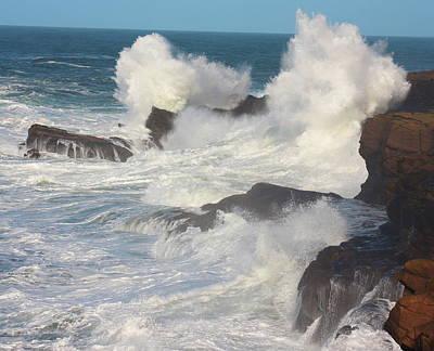 Oregon Coast Photograph - Power by John McManus