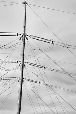 Photograph - Power Line Sky by Britt Runyon