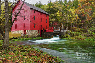 Photograph - Power Of Alley Mill by Jennifer White