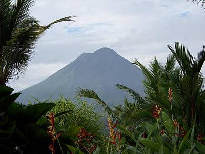 Arenal Photograph - Power Of Beauty by Karen Wiles