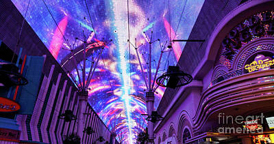 Photograph - Power Of Fremont Street by Jennifer White