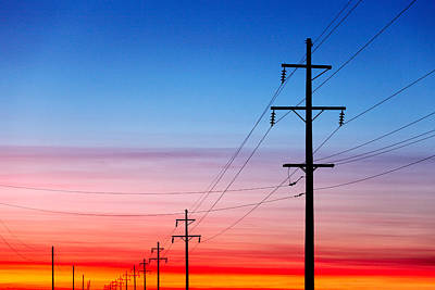 In A Row Photograph - Power Of Nature by Todd Klassy