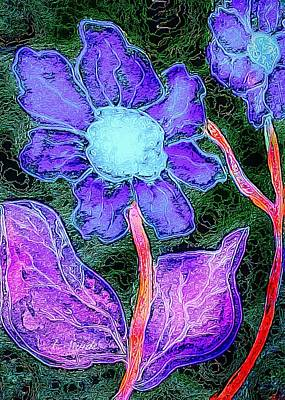 Painting - Power Of Purple by Anne Sands