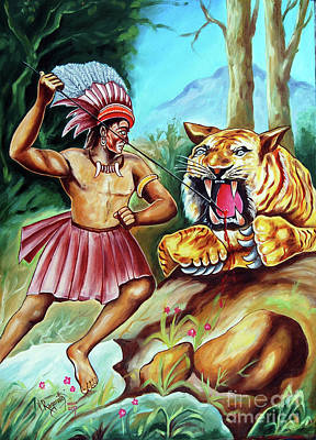 Painting - The Beast Of Beasts by Ragunath Venkatraman