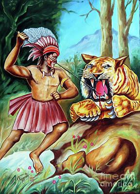 Painting - The Beast Of Beasts by Ragunath Venkatraman