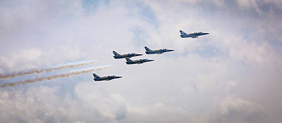Photograph - Power of the Pines Air Show by Howard Yermish