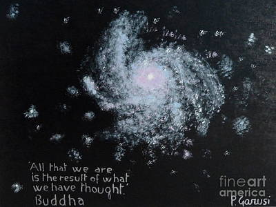 World Of Thought Painting - Power Of Thought by Piercarla Garusi