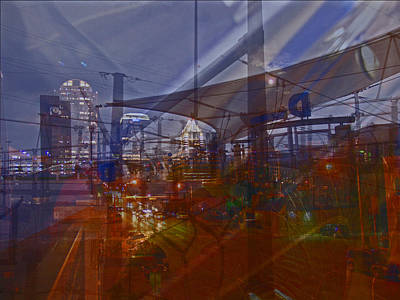 Photograph - Power Of Transit In The City by James Granberry