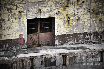 Photograph - Power Plant Door 2 by Patrick M Lynch