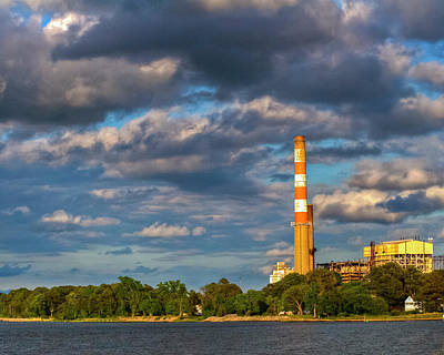 Kevin Hill Photograph - Power Plant by Kevin Hill