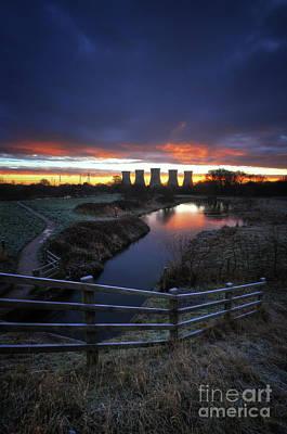 Photograph - Power Plant Sunrise 2.0 by Yhun Suarez