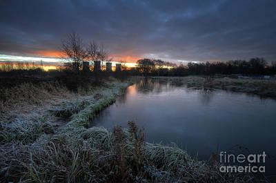 Photograph - Power Plant Sunrise 3.0 by Yhun Suarez