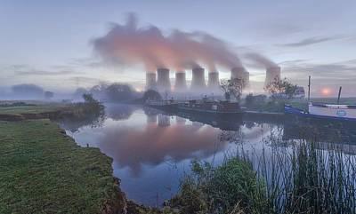 City Digital Art - Power Plant by Super Lovely