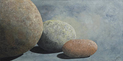 Painting - Power Rocks by Garry McMichael