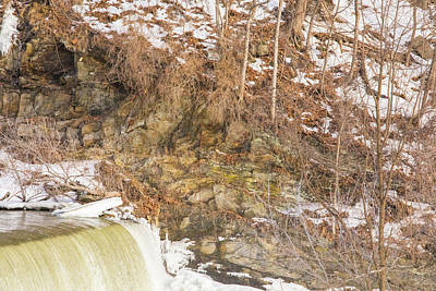 Photograph - Power Station Falls On Black River Four by JimO Ogilvie