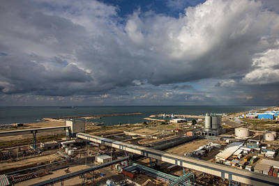 Photograph - Power Station Vs God Power by Mark Perelmuter