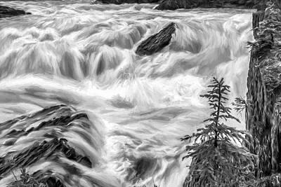 Digital Art - Power Stream II by Jon Glaser