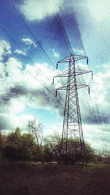 Photograph - Power Structure by Isabella F Abbie Shores FRSA