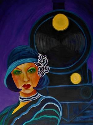 Painting - Power Trip by Carolyn LeGrand