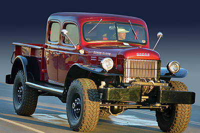 Photograph - Power Wagon  by Bill Dutting