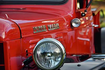Photograph - Power Wagon by Dean Ferreira
