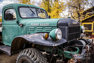 Power Wagon Art Print by Lynn Sprowl