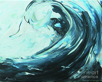 Painting - Power Wave by Jeanette French