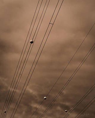 Photograph - Power Wires by Bob Orsillo