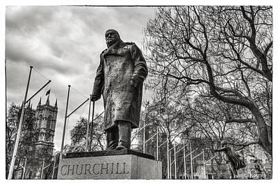 Photograph - The Legend Churchill by Walt  Baker