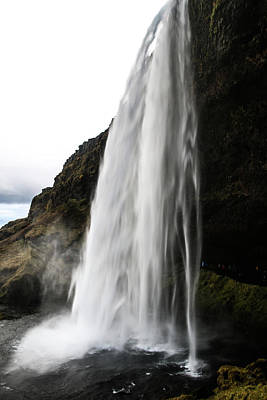 Photograph - Powerful Falls by Perggals - Stacey Turner