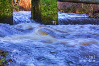 Powerful Flow 2 Art Print