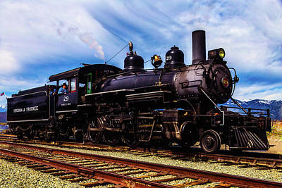 Virgina Photograph - Powerful Virgina Truckee No 29 by Garry Gay