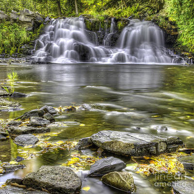 Powerhouse Falls Art Print by Twenty Two North Photography