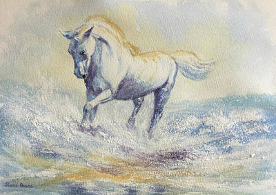 Positive Attitude Painting - Powering Forward by Diane Quee